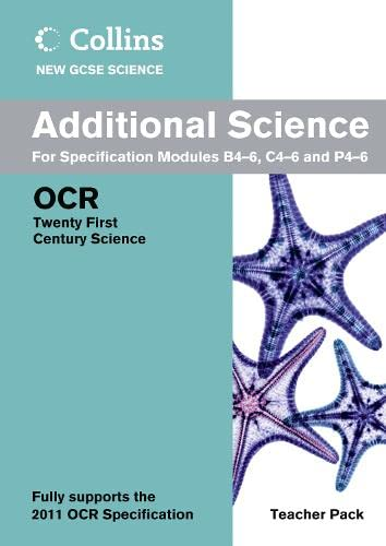 9780007415236: Additional Science Teacher Pack: OCR 21st Century Science (Collins New GCSE Science)