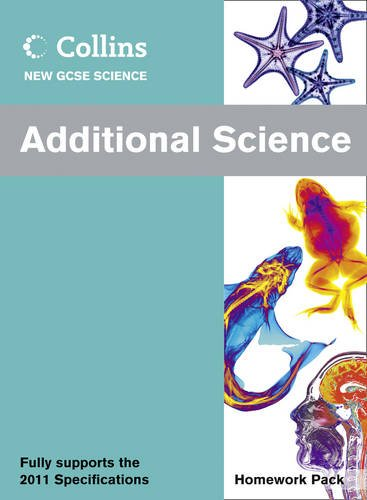 9780007415304: Collins New GCSE Science - Additional Science Homework Pack
