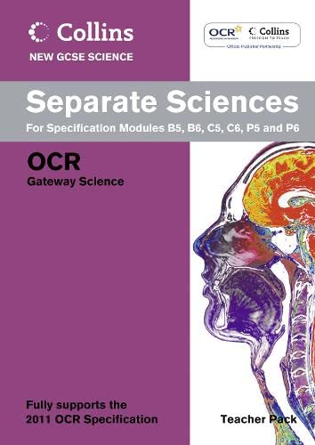 9780007415359: Collins New Gcse Science. Separate Sciences Teacher Pack