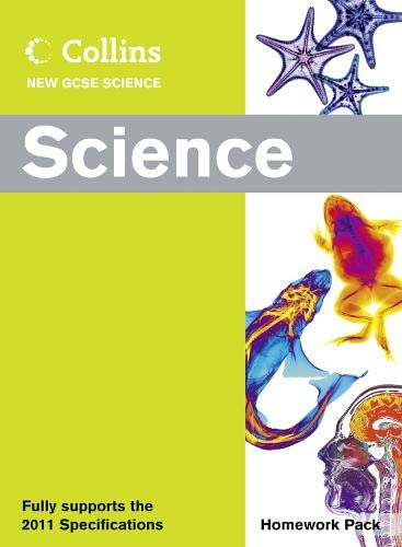 9780007415366: Collins New GCSE Science - Science Homework Pack