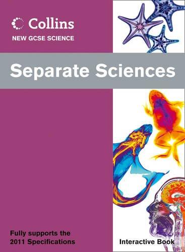 9780007415427: Separate Sciences Interactive Book (Collins GCSE Science 2011)
