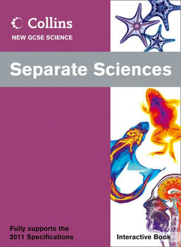 9780007415427: Separate Sciences Interactive Book (Collins GCSE Science 2011)