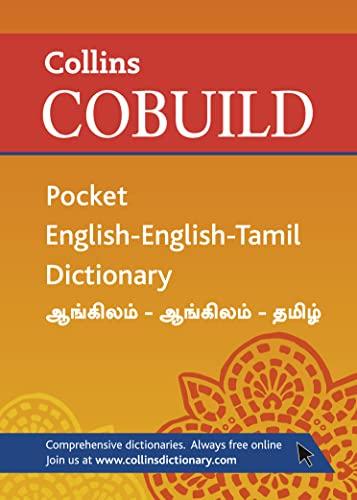 Collins Cobuild Pocket English-English-Tamil Dictionary (Collins Cobuild