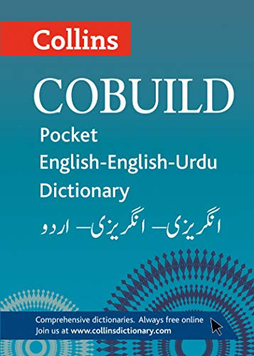 9780007415496: Collins Cobuild Pocket English-English-Urdu Dictionary