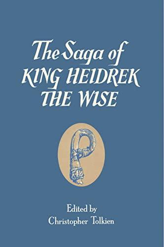 9780007416967: The Saga of King Heidrek the Wise