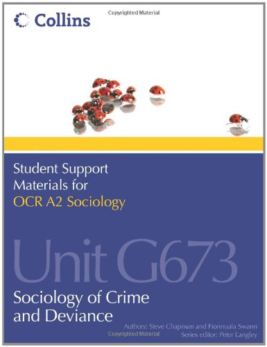 9780007418374: Student Support Materials for Sociology - OCR A2 Sociology Unit G673: Sociology of Crime and Deviance