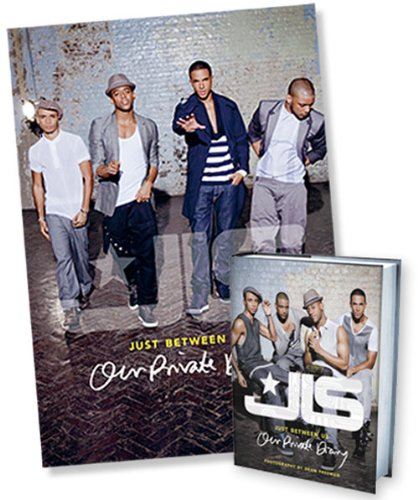 9780007418510: JLS: Just Between Us: Our Private Diary (Includes Free Poster)