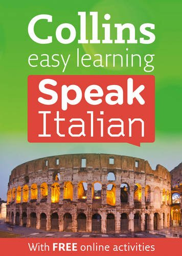 9780007420520: Collins Easy Learning Speak Italian (Collins Easy Learning Book/CD)