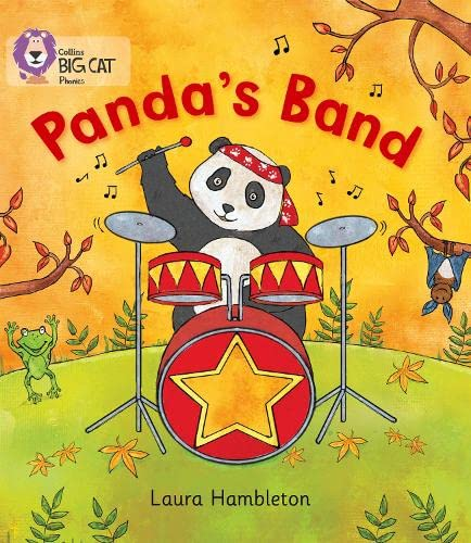 9780007421954: Collins Big Cat Phonics - Panda's Band: Band 02A/Red A