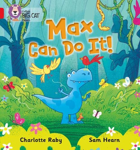 9780007421985: Collins Big Cat Phonics - Max Can Do It!: Band 02B/Red B