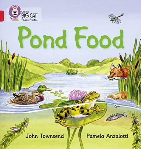 9780007422012: Collins Big Cat Phonics - Pond Food: Band 02B/Red B