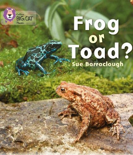 9780007422050: Frog or Toad? (Collins Big Cat Phonics)