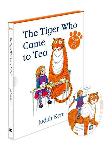 9780007423194: THE TIGER WHO CAME TO TEA Book and CD set