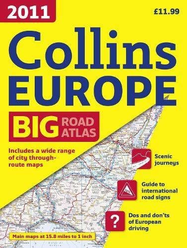 9780007424214: 2011 Collins Road Atlas Europe