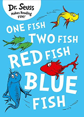 9780007425617: One Fish, Two Fish, Red Fish, Blue Fish. Dr. Seuss