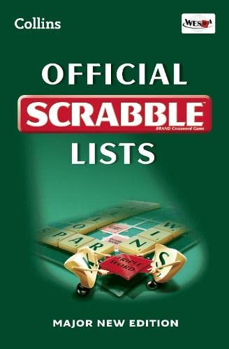 9780007425631: Official Scrabble Lists