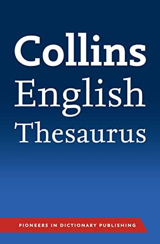 9780007426959: Collins English Paperback Thesaurus