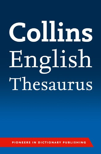 9780007426959: Collins Paperback Thesaurus.