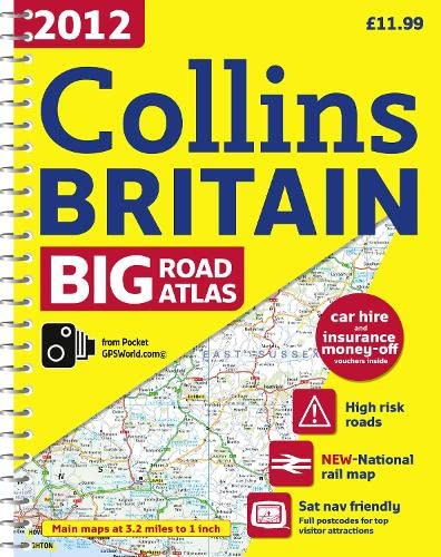 9780007427369: 2012 Collins Big Road Atlas Britain (International Road Atlases)