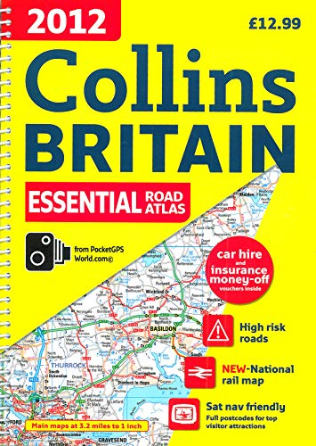 9780007427383: 2012 Collins Britain Essential Road Atlas (International Road Atlases)