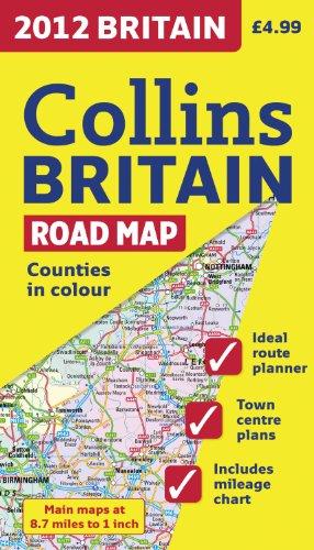 9780007427406: 2012 Britain Road Map (International Road Atlases)