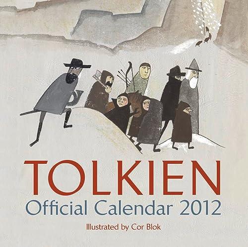 9780007428090: Tolkien Calendar 2012