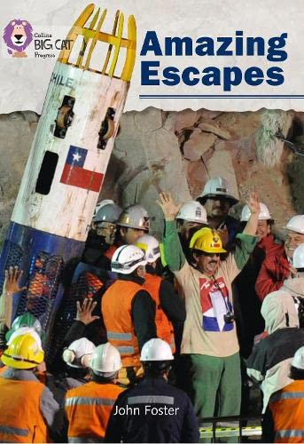 9780007428915: Amazing Escapes: Band 05 Green/Band 16 Sapphire (Collins Big Cat Progress)
