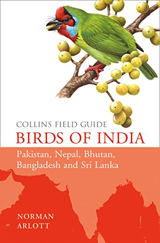 9780007429554: Birds of India (Collins Field Guide)