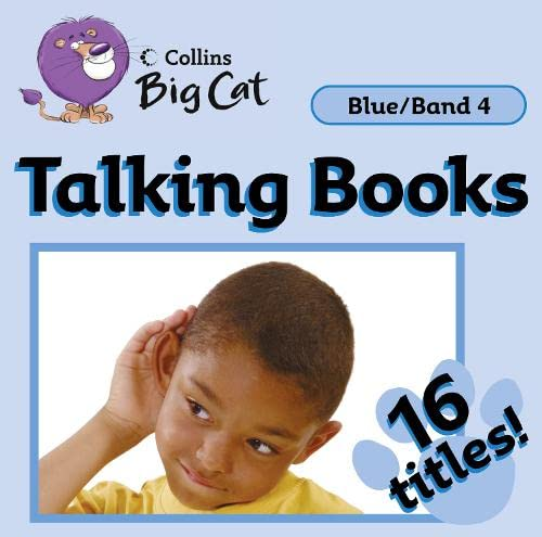 9780007430352: Collins Big Cat Audio - Talking Books: Band 04/Blue