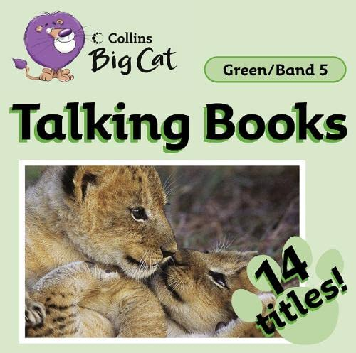9780007430369: Collins Big Cat Audio - Talking Books: Band 05/Green
