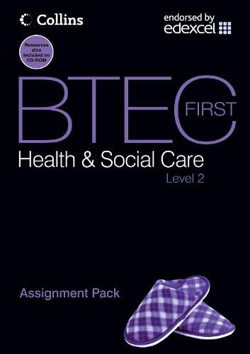 9780007430437: BTEC First Health and Social Care - Assignment Pack