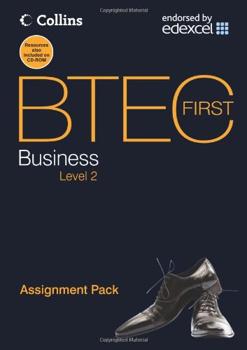 9780007430451: Assignment Pack (BTEC First Business)
