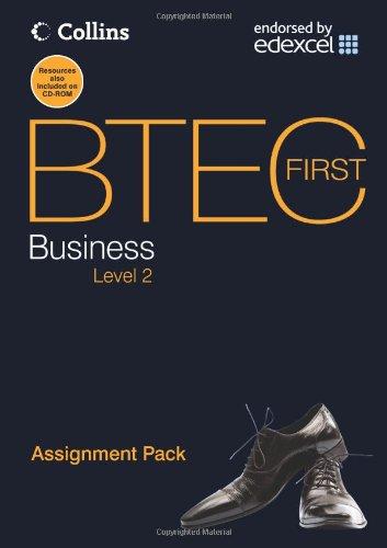 9780007430451: BTEC First Business - Assignment Pack