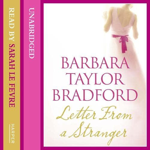 9780007430635: Letter from a Stranger