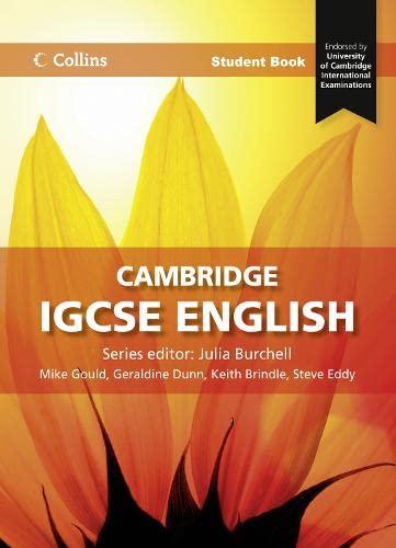 9780007430925: Collins Cambridge IGCSE English - Cambridge IGCSE English Student Book