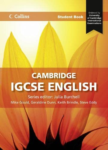 9780007430925: Cambridge Igcse English. Student Book