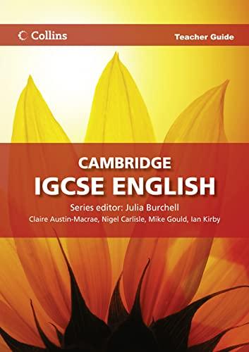 9780007430932: Cambridge Igcse English. Teacher Guide (Collins Cambridge IGCSE English)