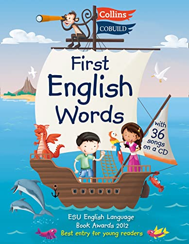 9780007431571: First English Words (Incl. audio CD): Age 3-7 (Collins First English Words)