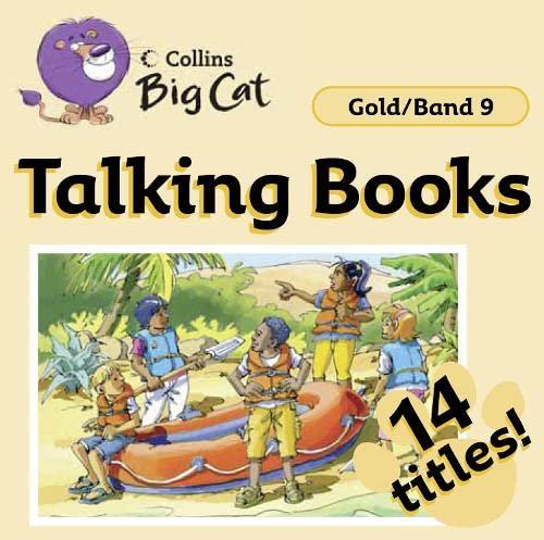 9780007431922: Talking Books: Band 09/Gold (Collins Big Cat Audio)