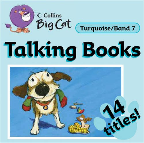 9780007431960: Collins Big Cat Audio - Talking Books: Band 7/Turquoise (Collins Big Cat Talking Books)