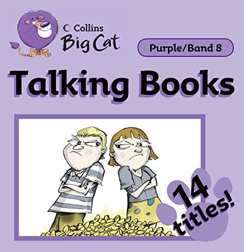 9780007431977: Collins Big Cat Audio - Talking Books: Band 8/Purple (Collins Big Cat Talking Books)
