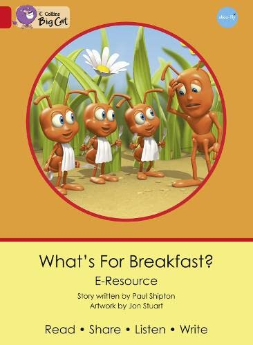 9780007432097: Collins Big Cat eResources - What's for Breakfast?: Red B/Band 02b