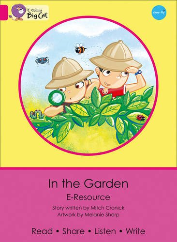 9780007432189: Collins Big Cat eResources - In the Garden: Pink A/Band 01a