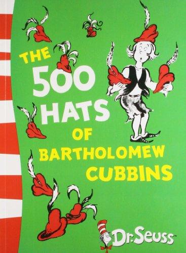 9780007434022: The 500 Hats of Bartholomew Cubbins