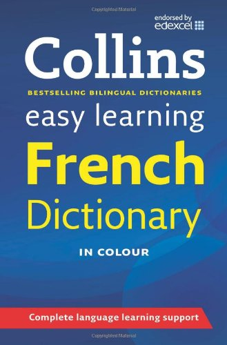 9780007434756: Collins Easy Learning French Dictionary.