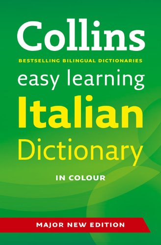 9780007434787: Easy Learning Italian Dictionary (Collins Easy Learning Italian)
