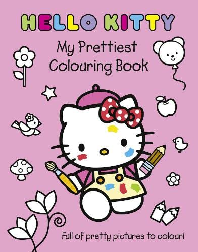 9780007436224: My Prettiest Colouring Book (Hello Kitty)