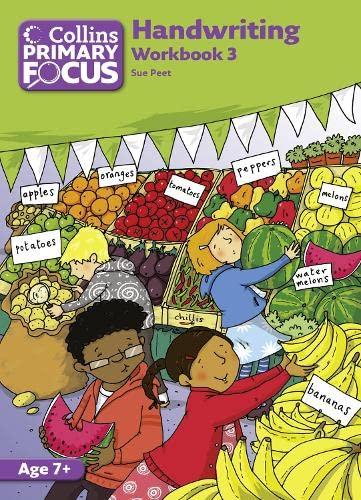 9780007436781: Collins Primary Focus - Workbook 3: Handwriting
