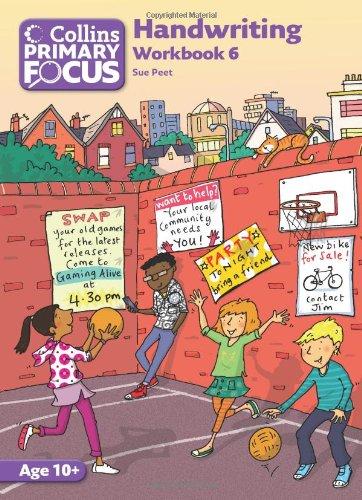 9780007436811: Collins Primary Focus - Workbook 6: Handwriting