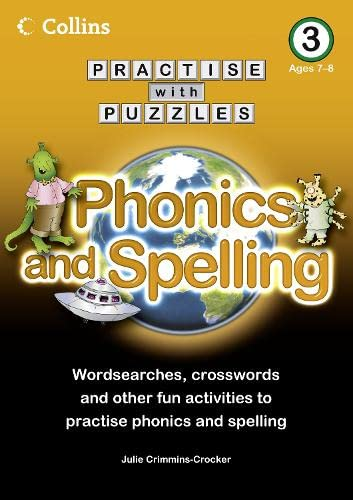 9780007437009: Book 3: Phonics and Spelling (Collins Practise with Puzzles)